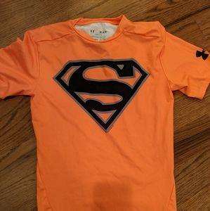 Under Armour Men's Compression Superman Medium